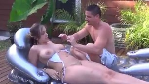 Sexy Brother Sister Massage