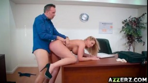 Big Tits And Big Boss Brooklyn Chase Hardcore Office Fuck