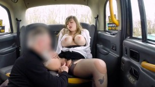 Chesty Blondie Madison Stuart Blows Hung Taxi Driver