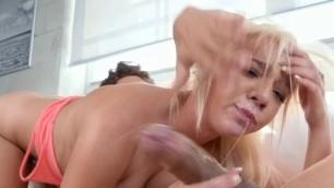 Teen Blondie Tiffany Watson Enjoys Good Dicking
