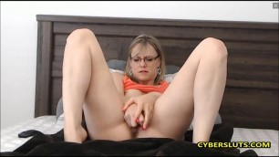 Horny teacher playing with her toys