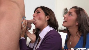 Anal Sex with Horny Stepmom Mature MILF