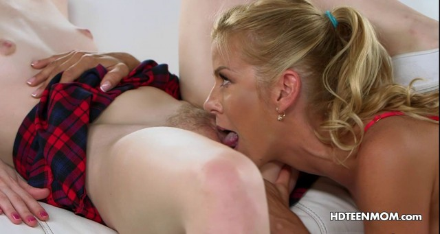 Experienced Woman Teaching Daughter Sex