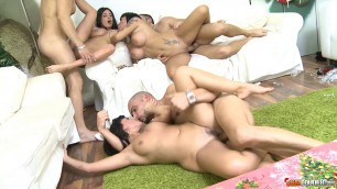 College Slut Fucks Ava Dalush Anissa Kate Suhaila Hard Orgy By Surprise
