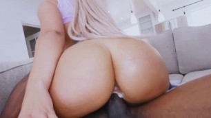 Assh Lee, Booty, booty, face sitting, big cock, big black cock, pussy, cowgirl, hardcore, blonden BFs Face And Big Cock