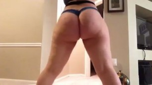 Booty Sabella Monize Twerking In A Thong Wife Long Nipples