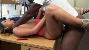 Jaye Summers, Interracial, interracial, big cock, big black cock, small tits, pussy, legs, hardcorepreads Her Legs Wide For BBC