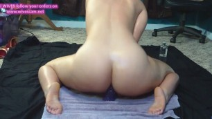 Amazing filthy pawg dildo 3