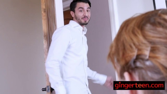 Gorgeous Emily takes her stepbrothers cock to make some money