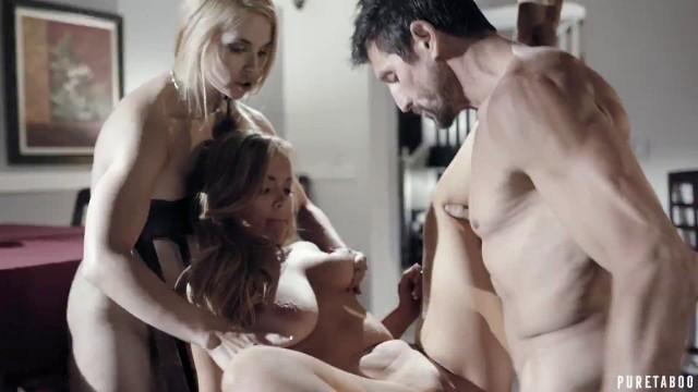 Pure Taboo With Sarah Vandella & River Fox In Birthday Surprise Hot Maid Fucks