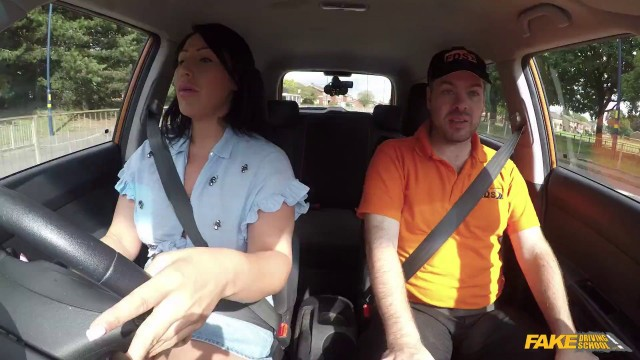 Fake Driving School With Candi Kayne In Candy Kayne Returns Just For Fuck