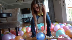 Ashley Sinclair Hot 180 Balloons Fast Pop