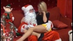 Christmas Sexy Young Slut Banged By Santa
