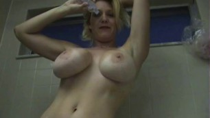 Missionary Porn Charlee Chase Oiling Up My Tits