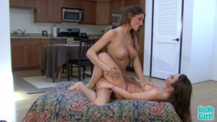 Pussy Hungry August Ames and Serena Blair Kissmegirl