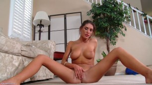 Big Titted College Girl August Ames Solo 2