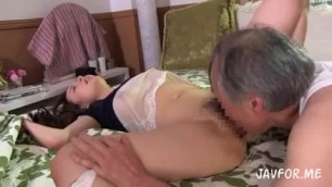 Kaori Saejima Bangs Horny Father In Law