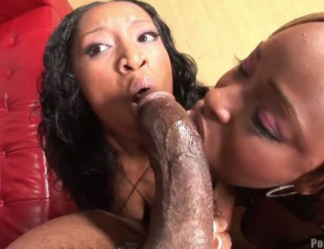 Ebony Threesome White Couple