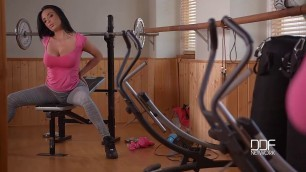Free Xxx Video Anissa Kate X Rated Gym Routine