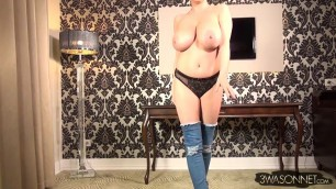 Young Love Sex Video Ewa Sonnet Wearing Boots Only