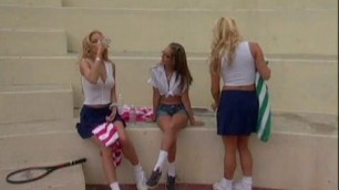 Jenna Haze Ashton Moore and Jessica Drake When The Boyz Are Away The Babes Will Play 8