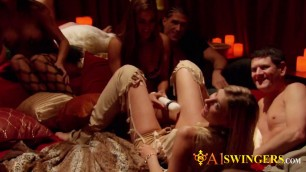 Couples desire to dive into the swinging lifestyle. New episodes of A1SWINGERS.com available.