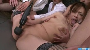 Aiko Hirose gets fucked by all her office colleagues - More at javhd net