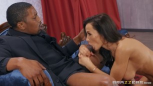 Lisa's Lover Lisa Ann Wonderful Blow Job
