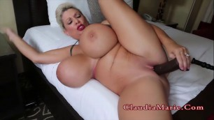 Claudia Marie Huge Boob Staycation 2