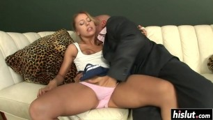 Nothing pleases Nikky as anal sex