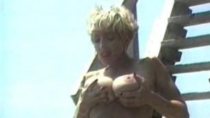 Danni Ashe At The Hot Beach