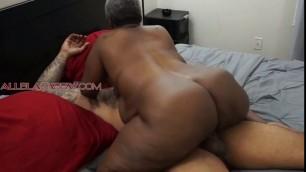 Allblackbbw Huge Booty Black Granny