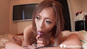 Horny Rina is here to suck a pecker