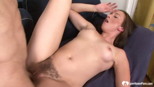 Sexy brunette loves to get hardcore fucked