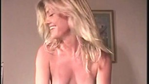 Holly Syms licks her lover's cock clean