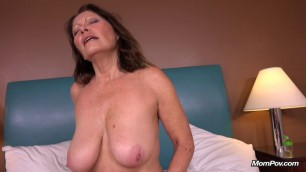 Abby - 52 year old mom with all natural huge boobs