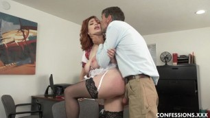 Confessions Annabel Redd Gets Her Professors Hardcore Dick To Study