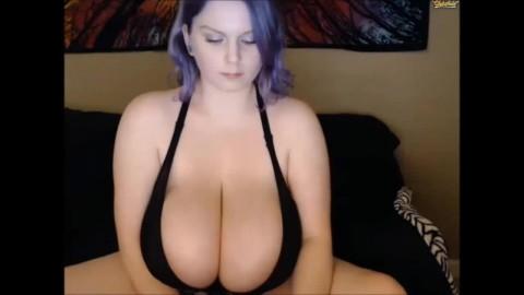 Cassie0pia's Big Boobs in Black Bra