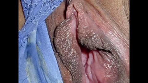 Milf pussy up close