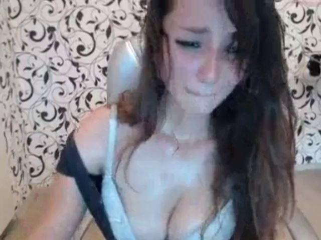 Big Tits Cam Girl Blowjob