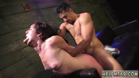 bondage first time anal