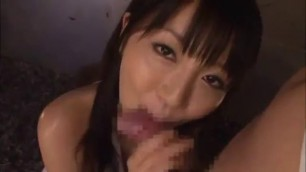 Gorgeous Miho Ichiki aka Yuuri Himeno Gets Cum On Her Face After Blowjob