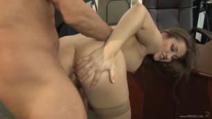 VideosZ Dani Daniels Office Job classic sex squirt hairy pussy hardcore porn HD 720