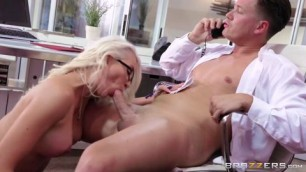 gigi allens Hot sex with a blonde secretary