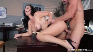 jayden jaymes Passionate fuck in the office with a brunette with big tits