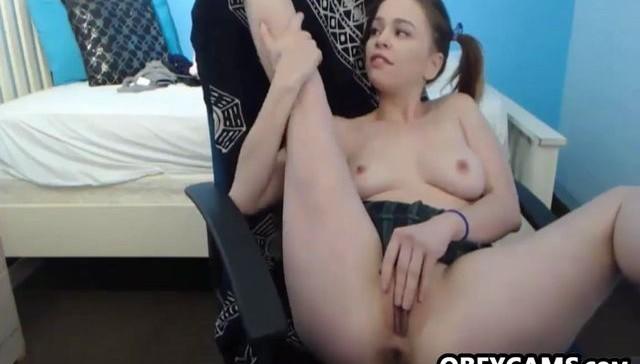 Cute And Wild Teen Webcam Girl