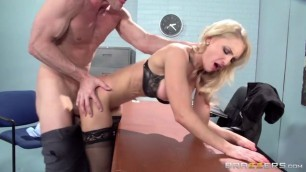 alix lynx Wild fuck blonde in the office