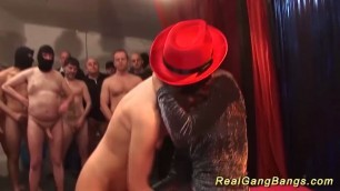 horny german gangbang party chicks