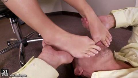 Emily Austin High Heels Seduction Footsie Babes porn
