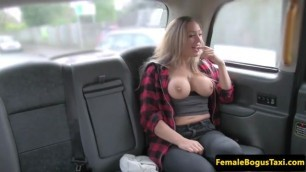 Blonde Hottie With Big Knockers Gets Fucked